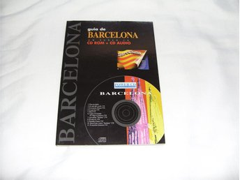 Rese Guide Barcelona CD ROM + CD Audio till PC & Mac datorer