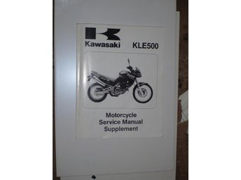 Verkstadshandbok supplement KLE500