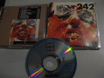 Front 242 Tyranny for You Swe CD RRE 1991 - Jönköping - Front 242 Tyranny for You Swe CD RRE 1991 - Jönköping