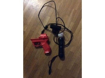 PlayStation Move m. Eye camera Kontroll & ett tillbehör PS3