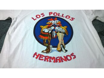 T-Shirt. Vit. Breaking Bad. Los Pollos Hermanos. Large