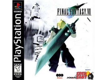 Final Fantasy VII (7) (Amerikansk Version & Manual Saknas)