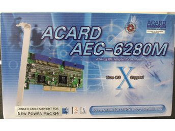 Award ATA-133 AEC-6280M PCI-to-IDE ATA-133 Controller for Macintosh