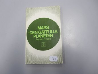 Mars - Den gåtfulla planeten - Åke Wallenquist - Pocket - Västervik - Mars - Den gåtfulla planeten - Åke Wallenquist - Pocket - Västervik