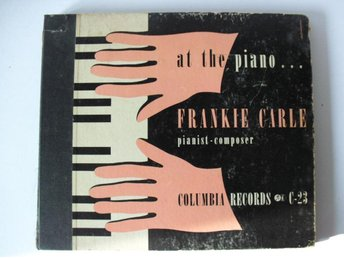 FRANKIE CARLE at the piano  C-23, 35570-35573, 4 st i album