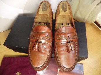 "Allen Edmonds ""Maxfield"" storlek US 9D"
