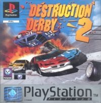 Destruction Derby 2 - Platinum - Playstation PS1