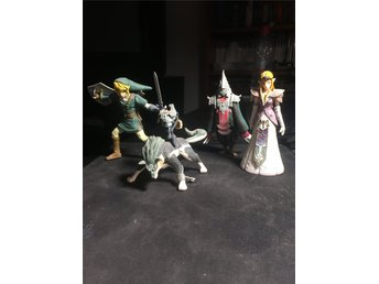 The Legend of Zelda Twilight Princess figurer