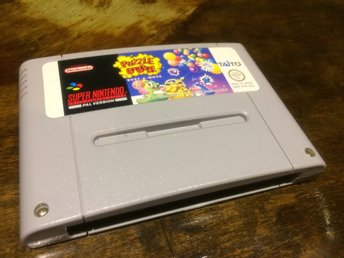 Supernintendo, SNES***Puzzle Bobble***