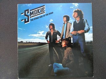 "LP vinyl Smokie ""The other side of the road"" i bra skick"
