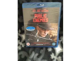 Public Enemies - Blu-Ray - Import - Helt ny!