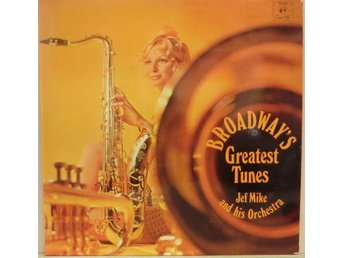 Jef Mike And His Orcehstra-Broadway's greatest tunes / LP