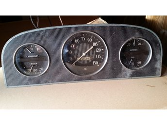 Instrument panel dashbord  Buick 40 1934 1935 speedometer gauge KMH