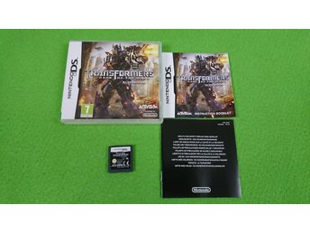 Transformer Dark of the Moon Autobots Nintendo DS