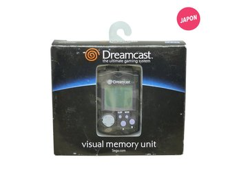 Visual Memory Unit VMU Dreamcast (Svart)