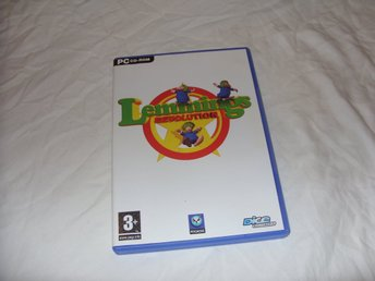 Lemmings Revolution PC CD ROM simulator pussel spel Psygnosis 2004 Engelsk