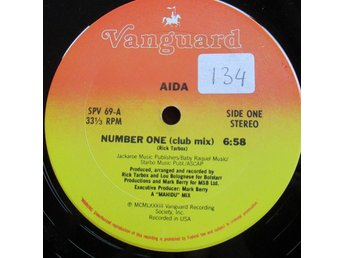 "12"" maxi: AIDA Number One (USA 1983) Electro!"