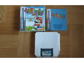 GBA/Game Boy Advance: Super Mario Advance Mario Bros 2 (svenskt)