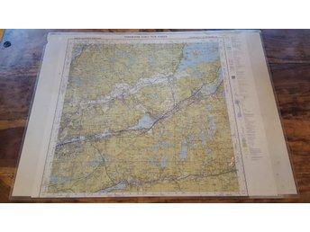 Karta Alingsas Boras.Inplastad Topografisk Karta O 341929436 ᐈ Dharma Underground Pa