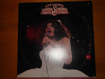 DONNA SUMMER - LIVE AND MORE (UTVIK) 1978 DLP