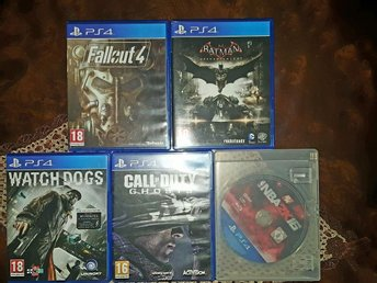 Fallout 4, Batman arkham knight, NBA 2k16 mm - Eslöv - Fallout 4, Batman arkham knight, NBA 2k16 mm - Eslöv