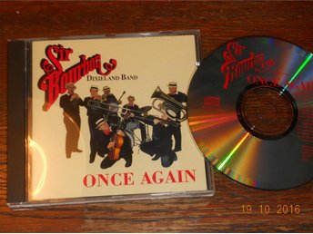 SIR BOURBON DIXIELAND BAND - Once again, CD 1992 - Gävle - SIR BOURBON DIXIELAND BAND - Once again, CD 1992 - Gävle