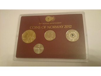 Set med mynt coins of Norway 2012