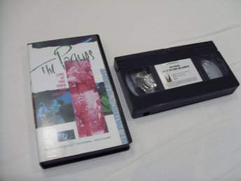 The Pogues Live at The Town and Country Musik konsert VHS PAL