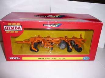 Simba Solo 330 Cultivator - Britains Authentic Farm Models - Skala 1:32 - BOXED