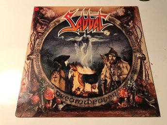 Sabbat Dreamweaver LP Thrash Tysk 1a Press inkl Booklet