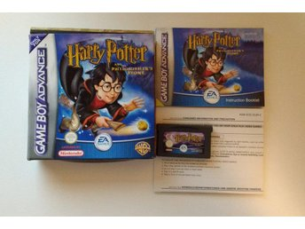 GBA/Game Boy Advance: Harry Potter & De vises sten (på svenska)