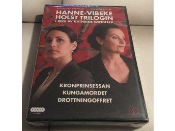 Hanne-Vibeke Holst Trilogin (Kronprinsessan/Kungamordet/Drottningoffret) Ny/Inpl - Lidköping - Hanne-Vibeke Holst Trilogin (Kronprinsessan/Kungamordet/Drottningoffret) Ny/Inpl - Lidköping
