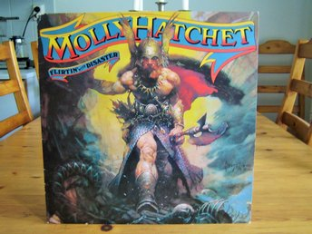 MOLLY HATCHET -Flirtin' With Disaster,US Southern Hard Rock,Orig.Dutch Epic 1979