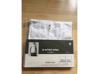 G-Star Raw T-shirt 2 pack NY i förpackning