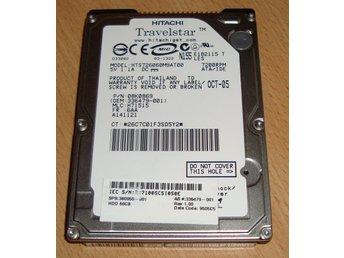 60Gb IDE hårddisk till Laptop 7200rpm Hitachi - Hisings Backa - 60Gb IDE hårddisk till Laptop 7200rpm Hitachi - Hisings Backa