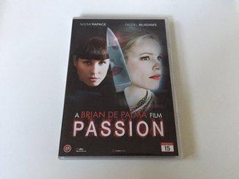 Passion - DVD Film (2012) Noomi Rapace - Rachel McAdams - Brian De Palma - Malmö - Passion - DVD Film (2012) Noomi Rapace - Rachel McAdams - Brian De Palma - Malmö