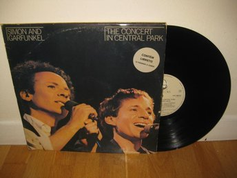 SIMON & GARFUNKEL - The concert in Central Park 2-LP 1981