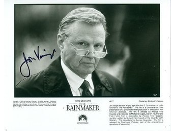 JON VOIGHT AMERICAN ACTOR ACADEMY AWARD WINNER AUTOGRAF