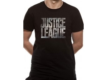 JUSTICE LEAGUE MOVIE - LOGO (UNISEX) - Extra-Large