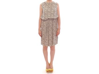 Dolce & Gabbana - Beige above knee shift dress
