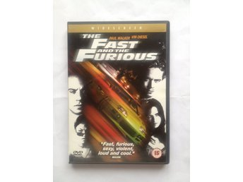DVD - The Fast And The Furious