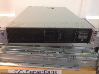 HP Proliant DL380p Gen8 E5-2609 V2 8GB P420i 2xPSU