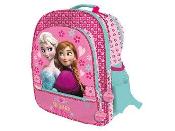 Disney Frozen Frost Anna Elsa Skolväska Ryggsäck Väska 41x34x18cm 9dda42dba8fc2