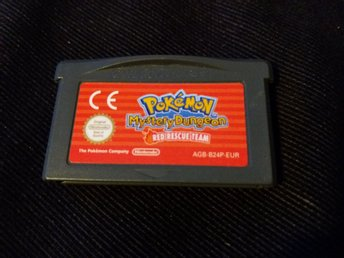 Pokémon Mystery Dungeon Red Rescue Team (GBA) EUR