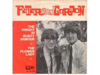 "PETER&GORDON - The Knight In Rusty Armour 7"" Spanien Beatles"