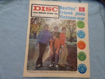 DISC Oct 28 -67 THE HERD BEATLES BEE GEES LENNON TAGES TRAFFIC DUSTY BYRDS