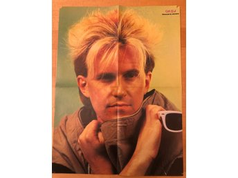Okej-poster Howard Jones / Ritchie Blackmoore