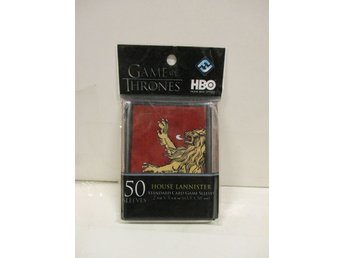 Card Sleeves: House Lannister (GAME OF THRONES) - OBRUTEN FÖRPACKNING!