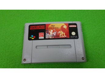 Lion King Super Nintendo Snes