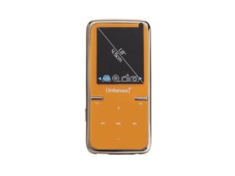 Intensy MP3 videospelare 8GB-video Scooter Orange 1,8 tum